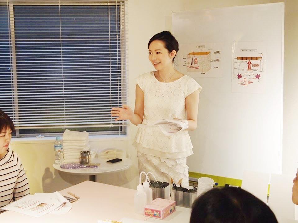 永松麻美,美容レッスン,講座,SUHADA,プロのエステティシャンになる方法,